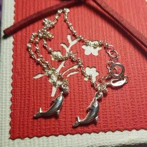 Jewelry/ Dolphin ankle bracelet